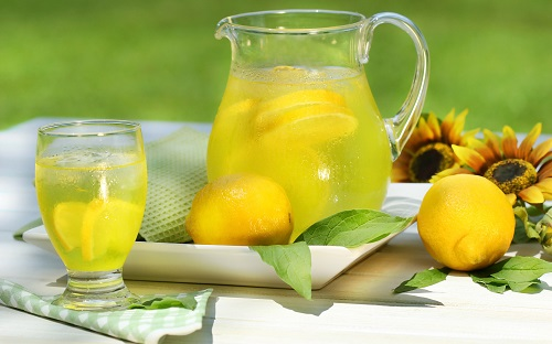 369914_limonad_limon_podsolnux_kuvshin_stakan_1680x1050_www GdeFon ru_