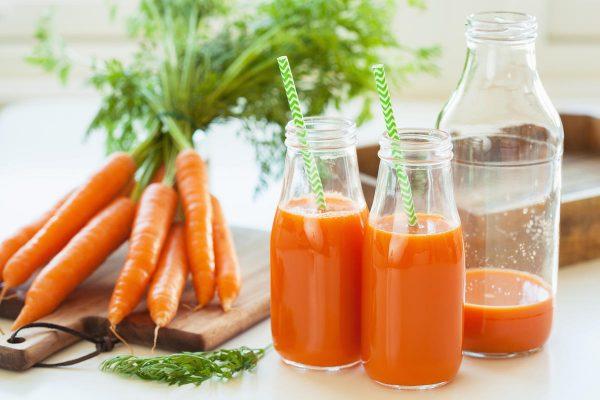 Морковный сок — приятное разнообразие при лечении простуд