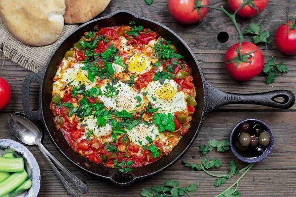 Израильская шакшука рецепт с фото - 1000.menu