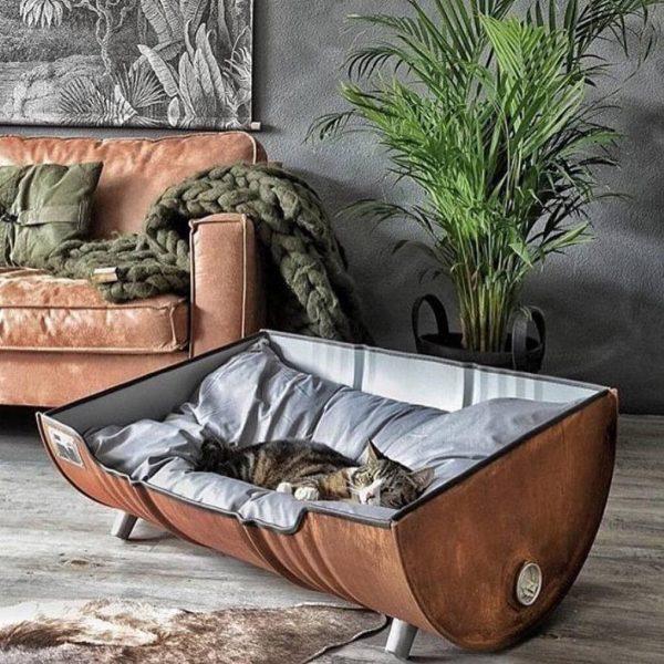 20 необычных решений дизайна интерьера, в которых сочетаются красота, стиль и функциональность | Кошачий домик, Мебель для домашних животных, Кошачья мебель